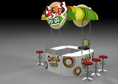 stand 3d render