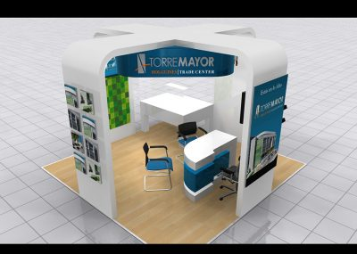 stand render 3d