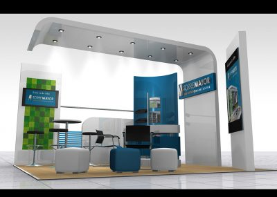 render 3d stand